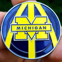 Card Guard - NCAA Michigan Wolverines Poker Card Guard Protector PREMIUM