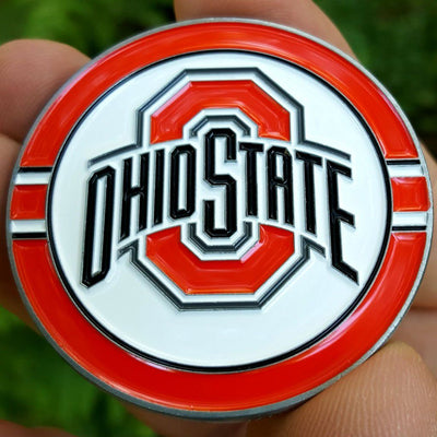 Card Guard - NCAA Ohio State Buckeyes Poker Card Guard Protector PREMIUM