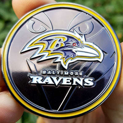 Card Guard - NFL Baltimore Ravens Poker Card Guard Protector PREMIUM