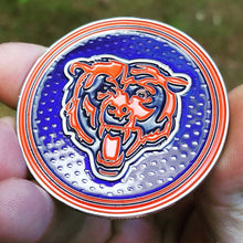 Card Guard - NFL Chicago Bears Poker Card Guard Protector PREMIUM