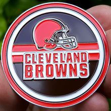 Card Guard - NFL Cleveland Browns Poker Card Guard Protector PREMIUM