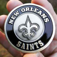 Card Guard - NFL New Orleans Saints Poker Card Guard Protector PREMIUM