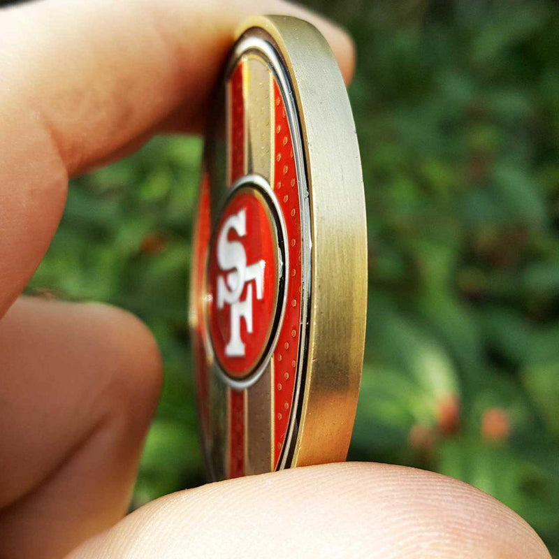 Card Guard - NFL San Francisco 49ers Poker Card Guard Protector PREMIUM