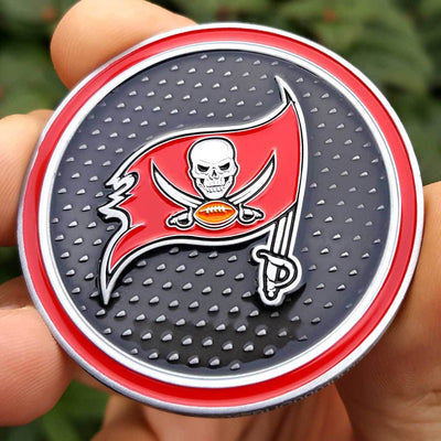 Card Guard - NFL Tampa Bay Buccaneers Poker Card Guard Protector PREMIUM