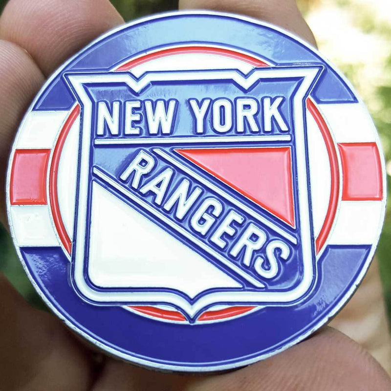 Card Guard - NHL New York Rangers Poker Card Protector PREMIUM