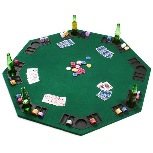 Card Guard - Octagon Poker & Blackjack 2 In 1 Table Top