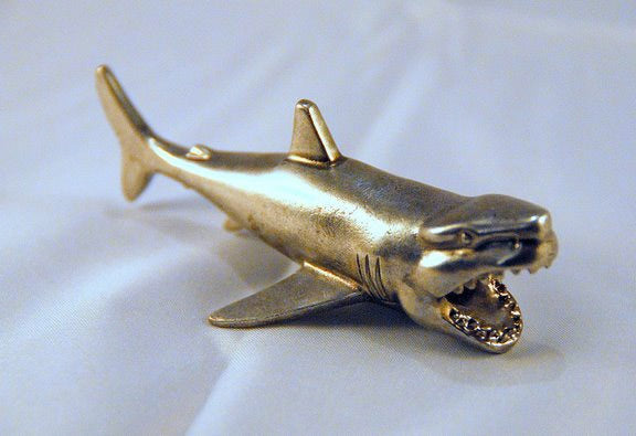 Card Guard - Shark Figurine