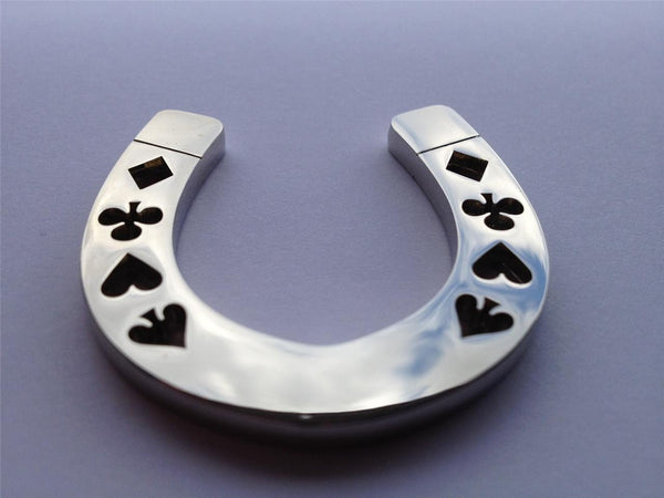 Card Guard - Silver Horseshoe