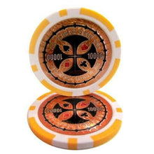 Chips - $10,000 Orange Ultimate 14 Gram - 100 Poker Chips