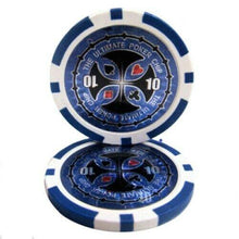 Chips - $10 Blue Ultimate 14 Gram - 100 Poker Chips