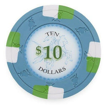 Chips - $10 Ten Dollar Poker Knights 13.5 Gram - 100 Poker Chips