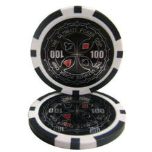 Chips - $100 Black Ultimate 14 Gram - 100 Poker Chips