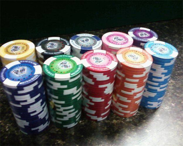 Chips - 100 Tournament Pro 11.5 Gram Poker Chips Bulk
