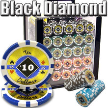 1000 Black Diamond 14 Gram Poker Set With Acrylic Case - The Poker Store .Com
