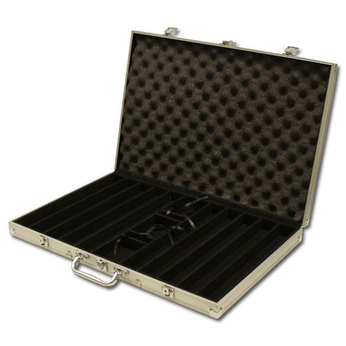 1000 Claysmith The Mint 13.5 Gram Poker Chips Set with Aluminum Case - The Poker Store .Com