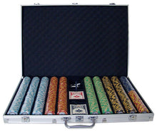 Chips - 1000 Monte Carlo 14 Gram Poker Chips Set With Aluminum Case