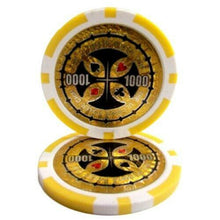Chips - $1000 Yellow Ultimate 14 Gram - 100 Poker Chips