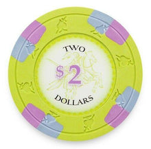 Chips - $2 Two Dollar Poker Knights 13.5 Gram - 100 Poker Chips