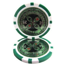 Chips - $25 Green Ultimate 14 Gram - 100 Poker Chips