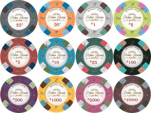 Chips - 25 Monaco Club 13.5 Gram Poker Chips Bulk