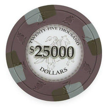 Chips - $25000 Twenty Five Thousand Dollar Poker Knights 13.5 Gram - 100 Poker Chips