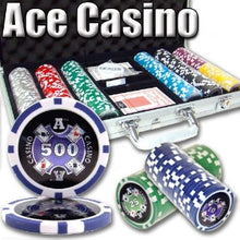 300 Ace Casino 14 Gram Poker Set with Aluminum Case - The Poker Store .Com