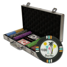 300 Claysmith Desert Heat 13.5 Gram Poker Chips with Aluminum Case - The Poker Store .Com