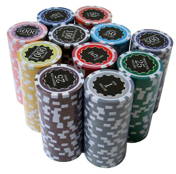 Chips - 300 Eclipse 14 Gram Poker Set With Aluminum Case