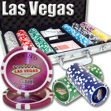 Chips - 300 Las Vegas 14 Gram Poker Set W Aluminum Case