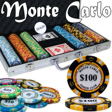 Chips - 300 Monte Carlo 14 Gram Poker Chips Set W Case