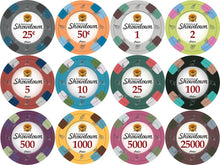 Chips - 400 Showdown Casino 13.5 Gram Poker Chips Bulk