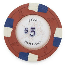 Chips - $5 Five Dollar Poker Knights 13.5 Gram - 100 Poker Chips