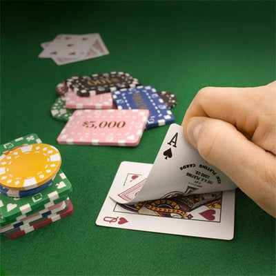 Chips - $50,000 Grey Square Chips Rectangular Poker Plaques