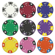Chips - 50 Ace King Suited 14 Gram Poker Chips Bulk