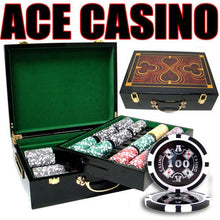 Chips - 500 Ace Casino 14 Gram Poker Set With Hi Gloss Humidor Case