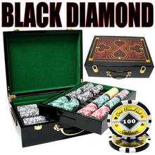 Chips - 500 Black Diamond 14 Gram Poker Chips Set With Hi Gloss Humidor Case