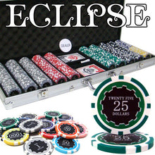 Chips - 500 Eclipse 14 Gram Poker Chips Set Aluminum Case Pre Packaged
