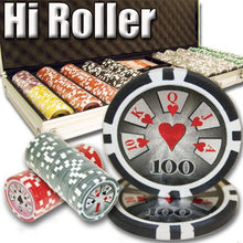 Chips - 500 High Roller 14 Gram Poker Chips Set With Aluminum Case