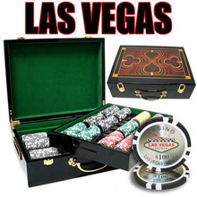 Chips - 500 Las Vegas 14 Gram Poker Chips Set With Hi Gloss Humidor Case