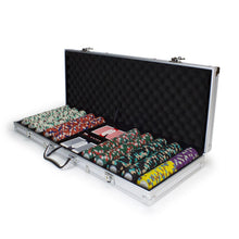 Chips - 500 Monaco Club 13.5 Gram Poker Chips Set With Aluminum Case