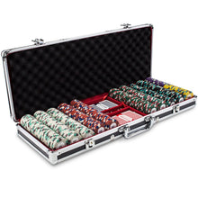 Chips - 500 Royal Poker Knights 13.5 Gram Poker Chips With Black Aluminum Case