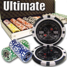 Chips - 500 Ultimate 14 Gram Poker Chips Set With Aluminum Case