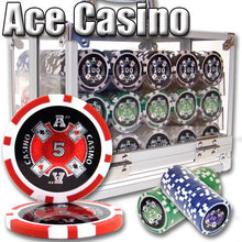 Chips - 600 Ace Casino 14 Gram Poker Set With Acrylic Carrier