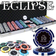 Chips - 600 Eclipse 14 Gram Poker Chips Set With Aluminum Case