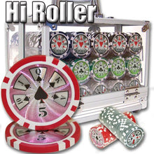 Chips - 600 High Roller 14 Gram Poker Chips Set With Acrylic Carrier
