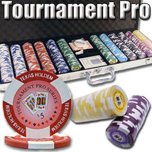 Chips - 600 Tournament Pro 11.5 Gram Poker Chips Set With Aluminum Case