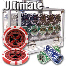 Chips - 600 Ultimate 14 Gram Poker Chips Set With Acrylic Carrier