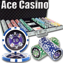 Chips - 750 Ace Casino 14 Gram Poker Set With Aluminum Case