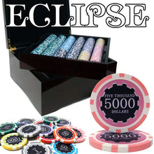 Chips - 750 Eclipse 14 Gram Poker Chips Set With Mahogany Case