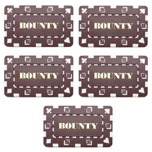 Chips - Bounty Brown Square Chips Rectangular Poker Plaques